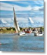 River Rother Metal Print by Sharon Lisa Clarke