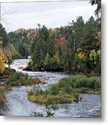 River Run Metal Print