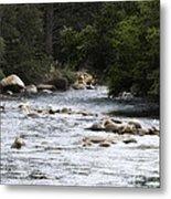 River Runs Through It Metal Print