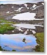 River San Juan And Lakes At Sunset Metal Print