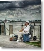 River Serenade Metal Print