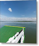 River Shannon Ferry, Tarbert-killimer Metal Print