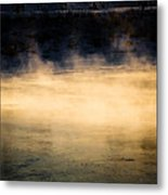River Smoke Metal Print