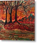 River Sunrise - Lothlorien Metal Print