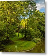 River Tranquility Metal Print