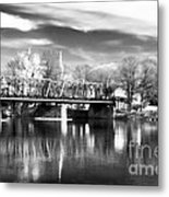 River View In New Hope Metal Print by John Rizzuto