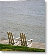 River View Metal Print