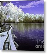River Walk Metal Print by Paul W Faust -  Impressions of Light