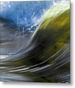 River Wave Metal Print