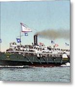 Riverboat, C1900 Metal Print