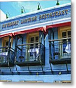 Riverboat Landing 0769 Metal Print