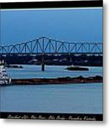 Riverboat Life Metal Print by David Lester