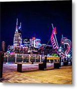 Riverfront Vista Metal Print by Lucas Foley