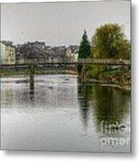 The River Kent At Kirkland In Kendal Metal Print