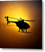 Riverside Ca Pd Air Support Metal Print
