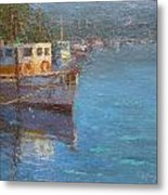 Riverton Morning Metal Print