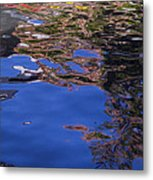 Riverwalk Refletion Metal Print