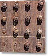 Chama -rivets On Steam Engine Boiler Metal Print