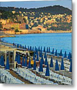 Riviera Full Moon Metal Print