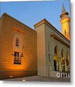 Riyadh Mosque Metal Print by George Paris