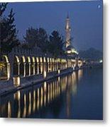 Rizvaniye Mosque And Halil-u Rahman Metal Print