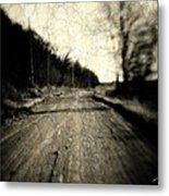 Road Of The Past Metal Print