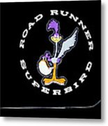 Road Runner Superbird Emblem Metal Print by Jill Reger