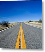 Road Through Sulphur Flats Metal Print