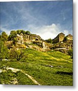 Road To Chufut-kale Metal Print