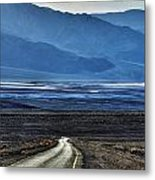 Road To Hell Metal Print