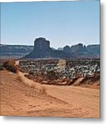 Road To Monument Valley Metal Print