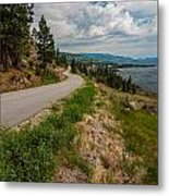 Road To Naramata Metal Print