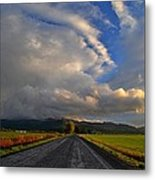 Road To Nowhere Metal Print by JM Photography    Jim Mullholand