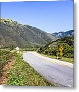 Road To Nowhere Metal Print