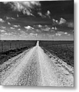 Road To Texaco Hill Metal Print