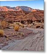 Road To The Badlands Metal Print