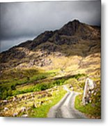 Road To The Black Valley Metal Print