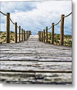 Road To The Dunes Metal Print