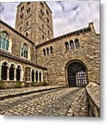 Road To The Gatehouse - In Color Metal Print
