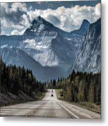 Road To The Great Mountain Metal Print
