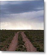 Road To The Rain Metal Print