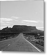 Road To The Rock Metal Print