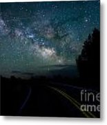 Road To The Stars Metal Print