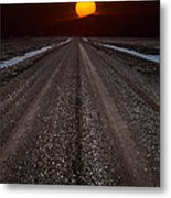 Road To The Sun Metal Print