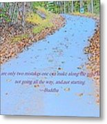 Road To Truth Metal Print