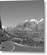 Road To Zion Metal Print
