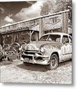 Roadside Antiques Metal Print