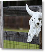 Roadside Rest Metal Print by Paula Rountree Bischoff