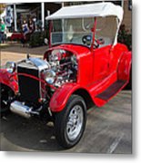Roadster Redone For Fun Metal Print