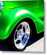 Roadster Wheels Metal Print